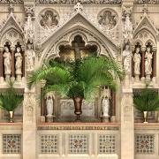 Palm Sunday Altar Display