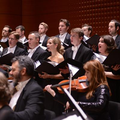 The Choir of Trinity Church Wall Street and Trinity Baroque Orchestra perform Handel's Messiah at Lincoln Center.